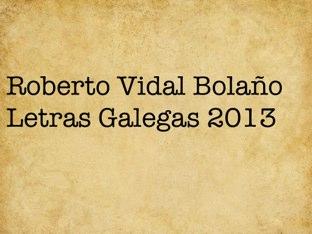 Roberto Vidal Bolaño by Mestra Primaria