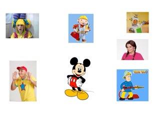 זיהוי דמויות לילדים by Orit Ashkenazi Cohen