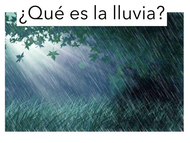 ¿Qué es la lluvia? by Samuel Lugilde