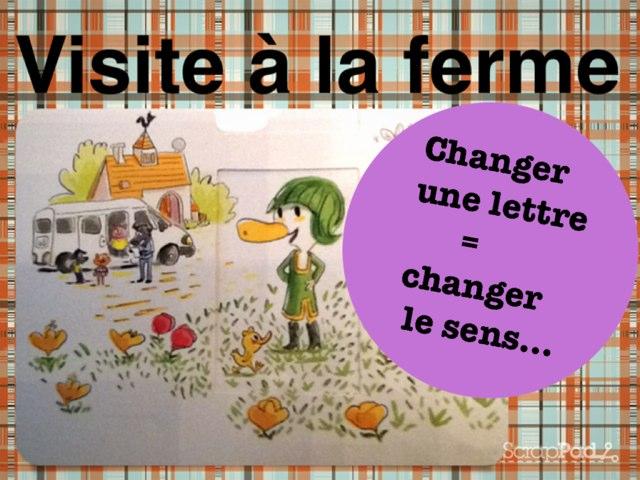 Changer Une Lettre, À La Ferme by Alice Turpin