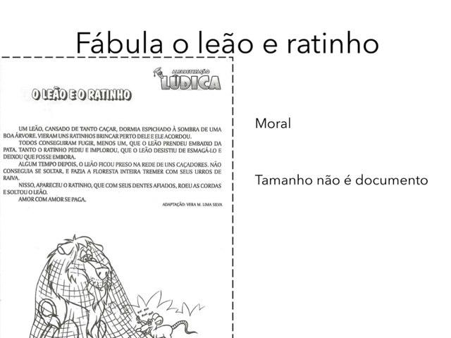Fábulas  by Marina Bernardo