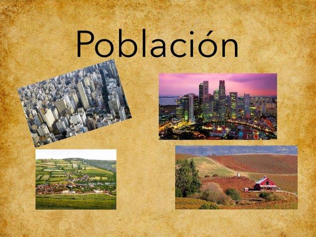 Población  by Agustin Torres