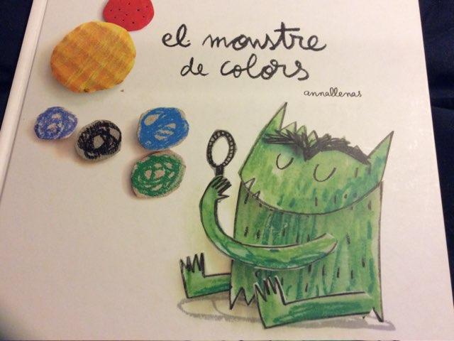 EL MONSTRE DE COLORS - COMPRENSIÓN by Escola nadis-scs