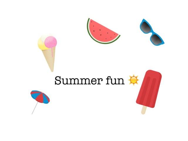 Summer 2014  by Mariyama Sarr