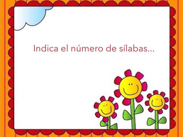 Reconocimiento De Sílabas by Zoila Masaveu