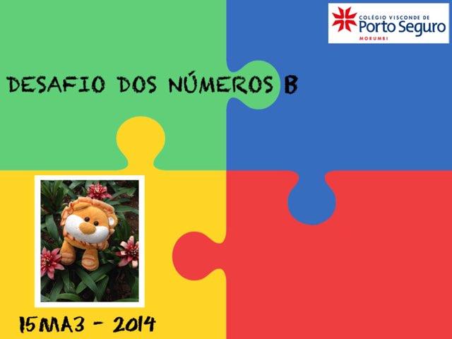 Desafio Dos Números -i5MA3 by TecEduc Porto