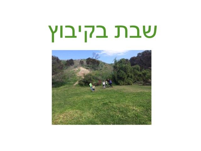 עמית בקיבוץ by Liron Lerden