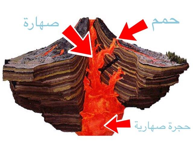 البركان by Fatma Al-Ameer
