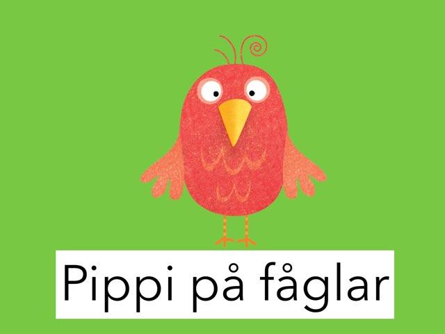 Pippi på fåglar by Lena Blomberg