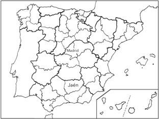 Mapa De España by Curso CFTIC