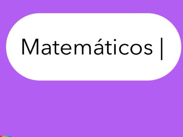 MATEMÁTICOS | by Tomás  Gonçalves