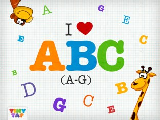 ABC Letters Worksheet by Tiny Tap