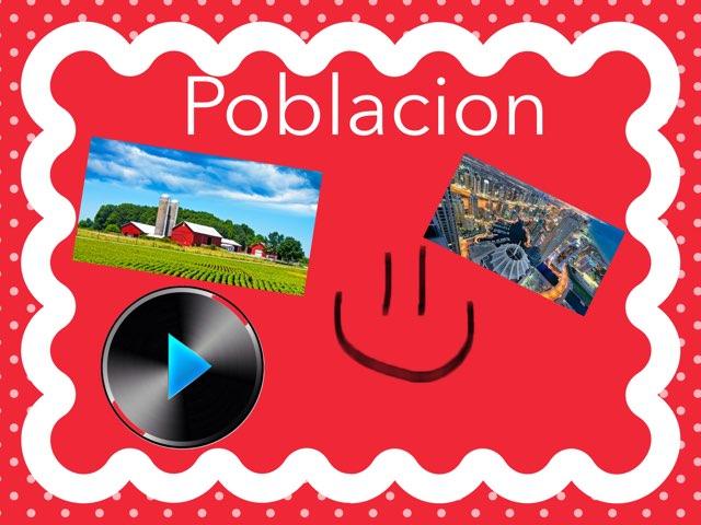Población  by Nicolas cervantes