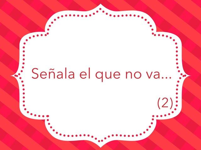 Señala El Que No Va (2) by Zoila Masaveu