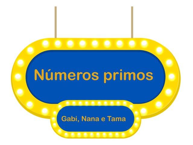 Números Primos by Gabriela Menache