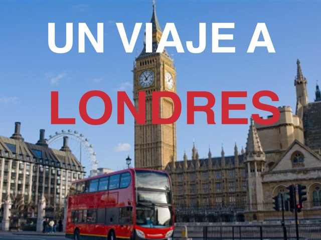UN VIAJE A LONDRES by Quiero Compartir