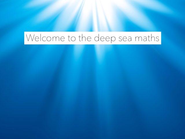 Under The Sea Maths by Meg Johnson