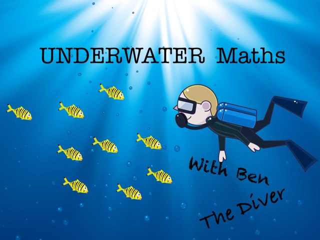 Underwater Maths With Ben  by Olly Hulse