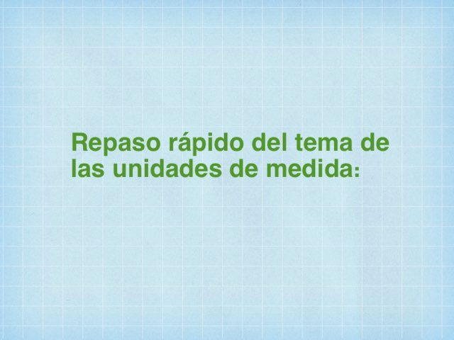 Unidades De Medida by Javier Sanz Matesanz