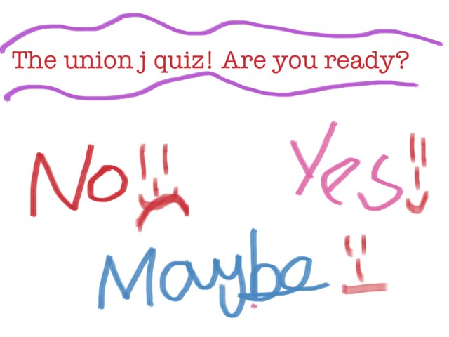 Union J  by Ebony Lees