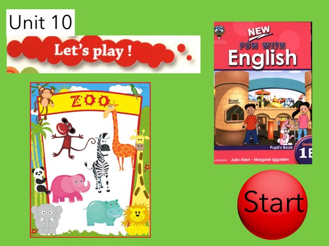 Unit 10 Let's Play by Safaa Mohamed