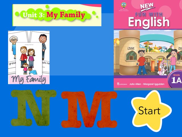 Unit 3 My Family Grade 1 by Safaa Mohamed