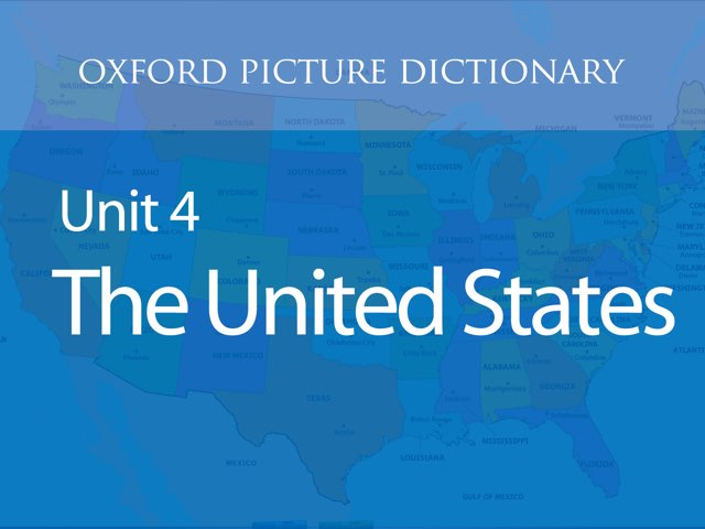 Unit 4: The United States by Oxford University Press