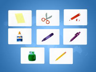 Unit 1 Betty (school supplies) - type by Play & Learn English School