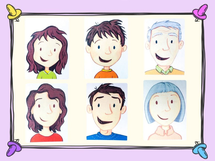 Unit 1 - Mr. Charlie (family) - puzzle by Play & Learn English School