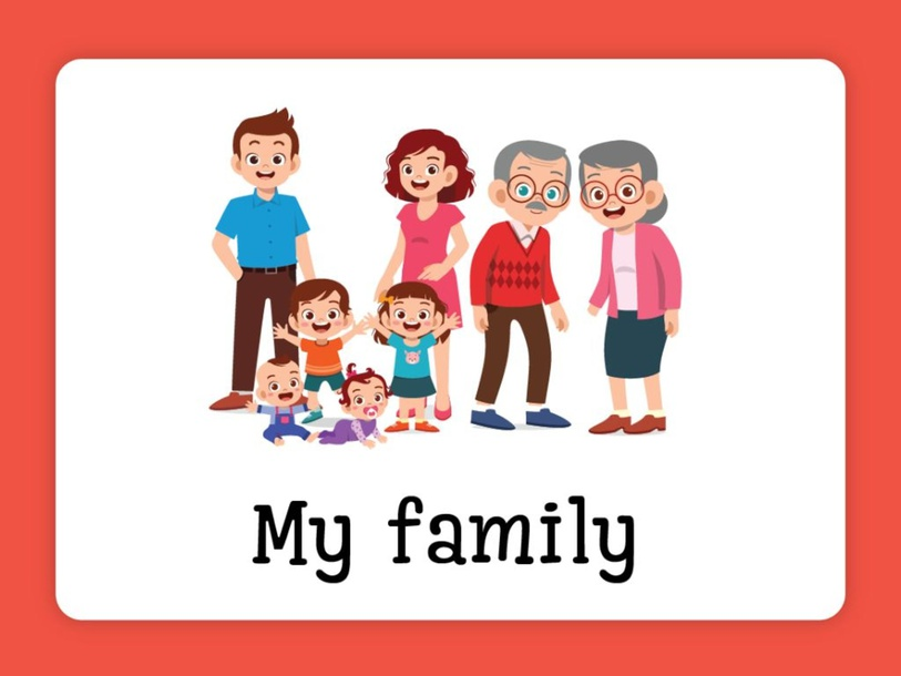 Unit 1 - My Family by Alena