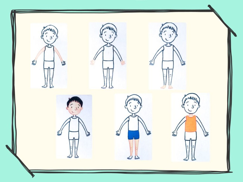 Unit 2 - Mr. Charlie (body) - practice by Play & Learn English School