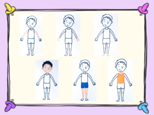 Unit 2 - Mr. Charlie (body) - puzzle by Play & Learn English School