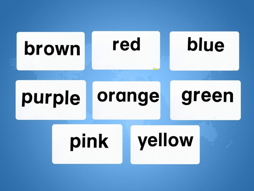 Unit 3 Betty (colours) - type by Play & Learn English School