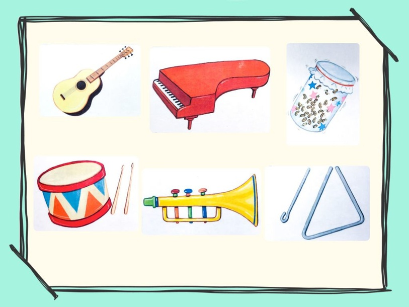 Unit 3 - Mr. Charlie (instruments) - practice by Play & Learn English School