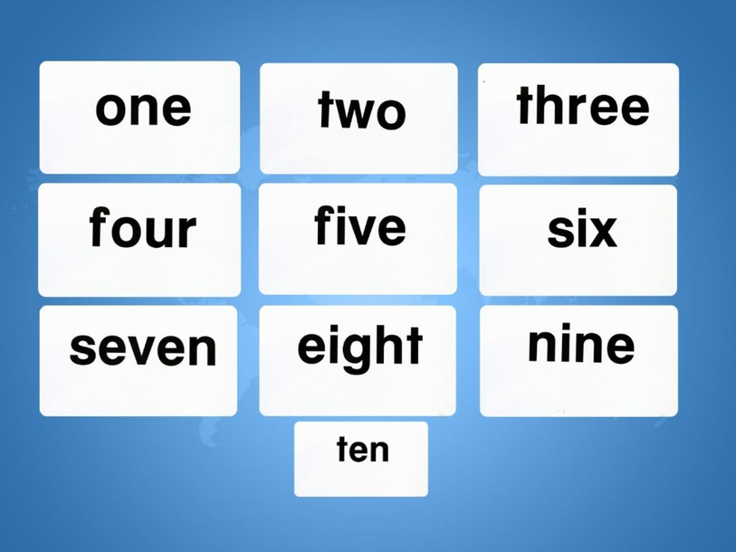 Unit 4 Betty (numbers) - type by Play & Learn English School
