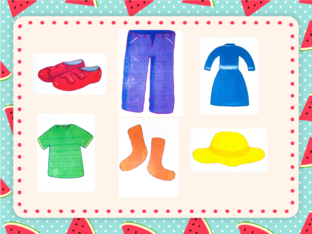 Unit 4 - Cheeky Monkey (clothes) - practice by Play & Learn English School