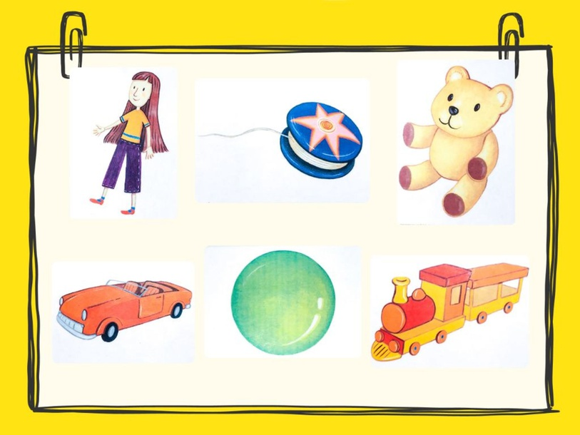 Unit 4 - Mr. Charlie (toys) - puzzle by Play & Learn English School