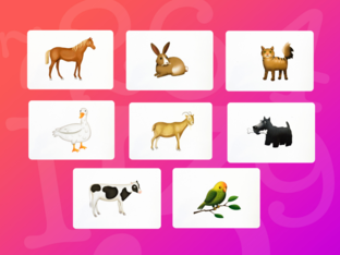 Unit 5 Betty (animals) - puzzle by Play & Learn English School