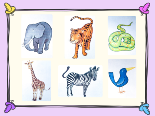 Unit 5 - Mr. Charlie (animals) - puzzle by Play & Learn English School