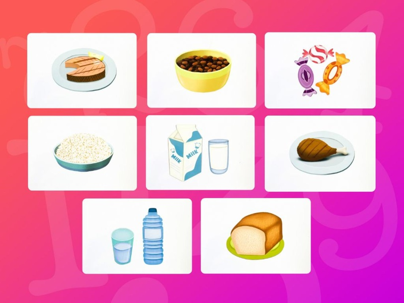 Unit 6 Betty (food) - puzzle by Play & Learn English School