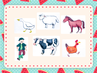 Unit 6 - Cheeky Monkey (farm) - puzzle by Play & Learn English School
