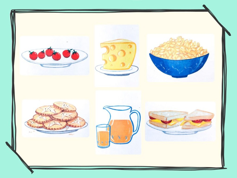 Unit 6 - Mr. Charlie (food) - practice by Play & Learn English School
