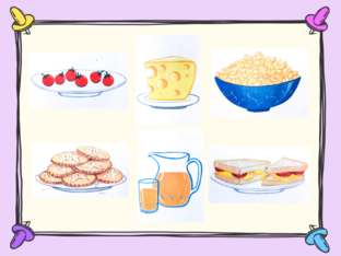 Unit 6 - Mr. Charlie (food) - puzzle by Play & Learn English School