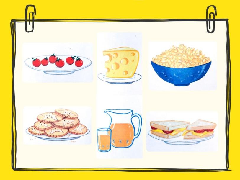 Unit 6 - Mr. Charlie (food) - question by Play & Learn English School