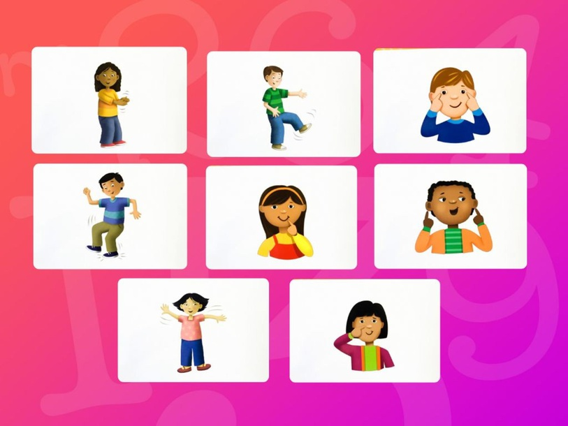 Unit 8 Betty (body) - puzzle by Play & Learn English School