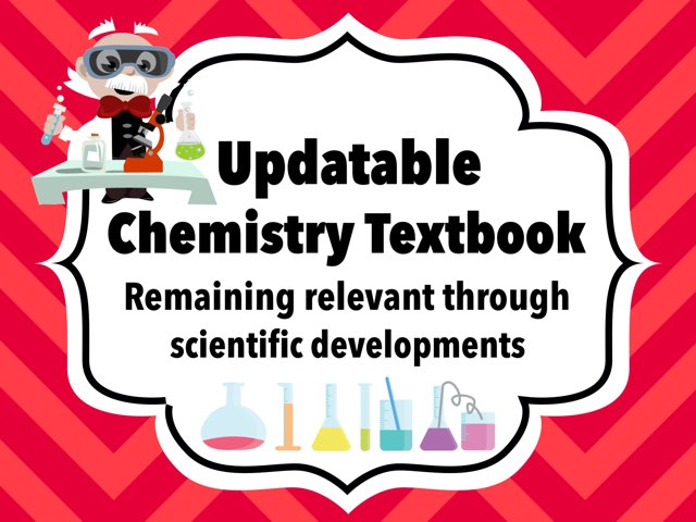 Updatable Chemistry Textbook by Leslie Burke