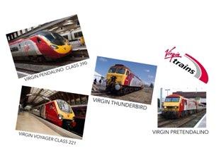VIRGIN TRAINS by Hathim Azyan
