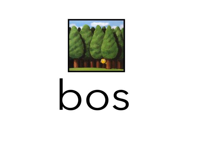 VLL Bos  by Ellen heerink