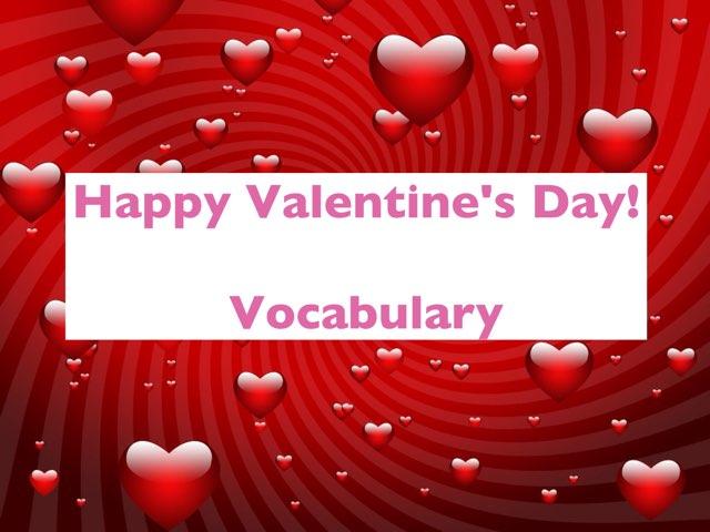 Valentine's Day Vocab  by Erica Lynn