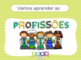 Vamos aprender as profissões by Ana Carolina Povoa